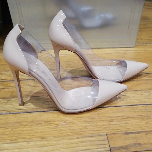 Gianvito Rossi Shoes | Blush Plexi